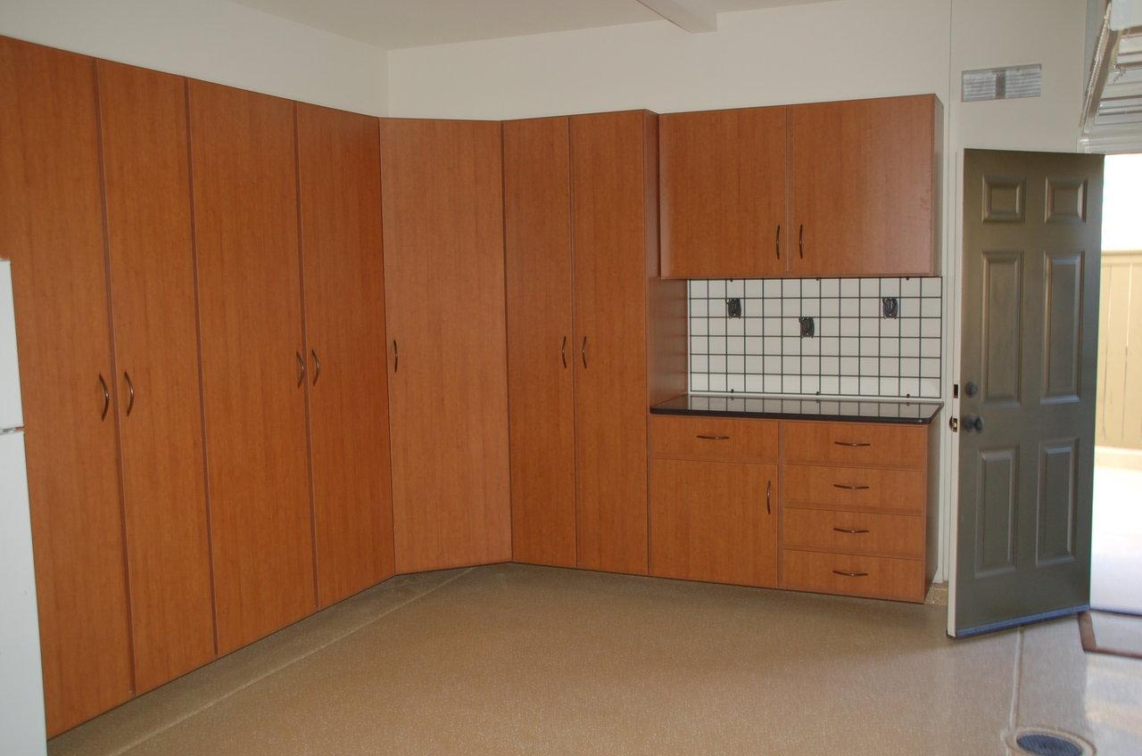 Garage Cabinets, Tuscany, San Diego