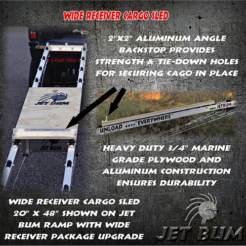 Wide Receiver Cargo Sled