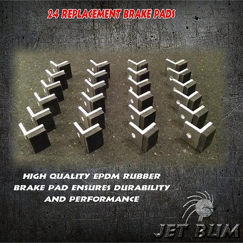 24 Replacement Brake Pads
