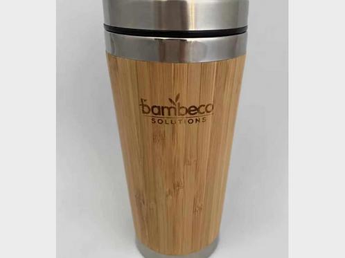 Natural Bamboo Travel Coffee Mug