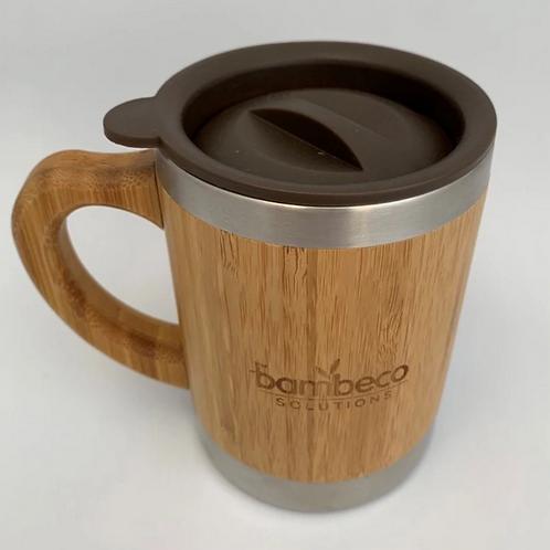 Small Natural Bamboo Coffee Mug
