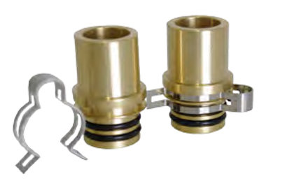 22mm Flat Plate Connectors