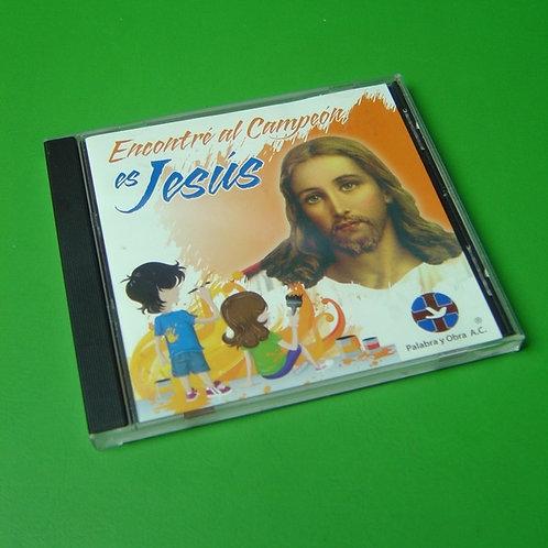 CD Encontré al Campeón, es Jesús I