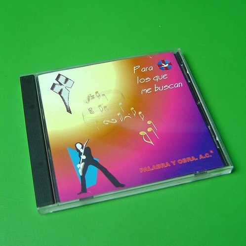 CD Para los que me buscan  I