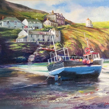 Stranded, Port Isaac