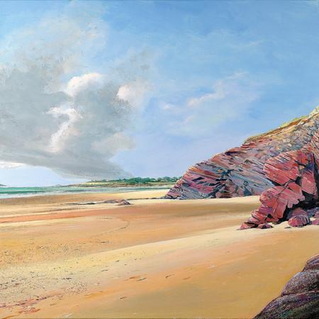 Daymer Bay, low tide