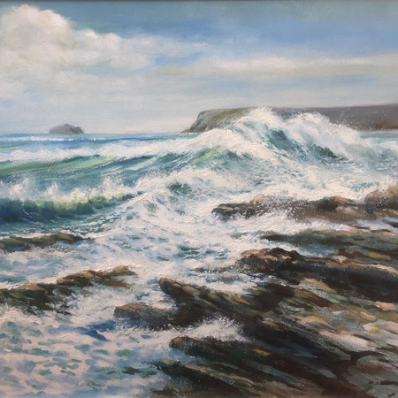Strong Westerly