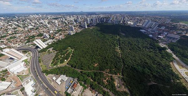 Tour Virtual 360º aérea do Parque Mãe Bonifácia