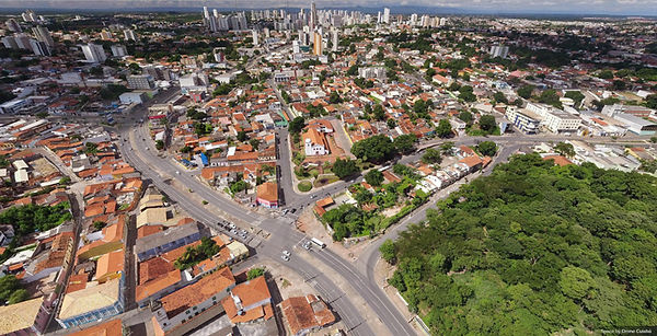 Tour Virtual 360º aérea do Centro Histórico de Cuiabá