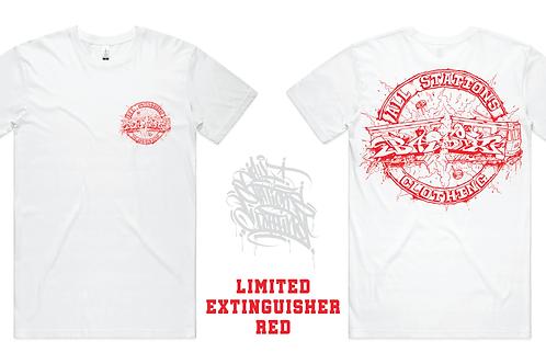 AllStationsClothing x BASIX Extinguisher Red