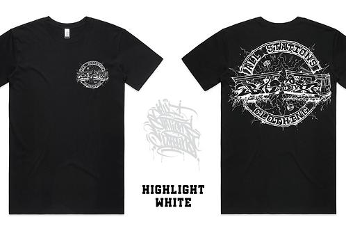 AllStationsClothing x BASIX Hightlight White