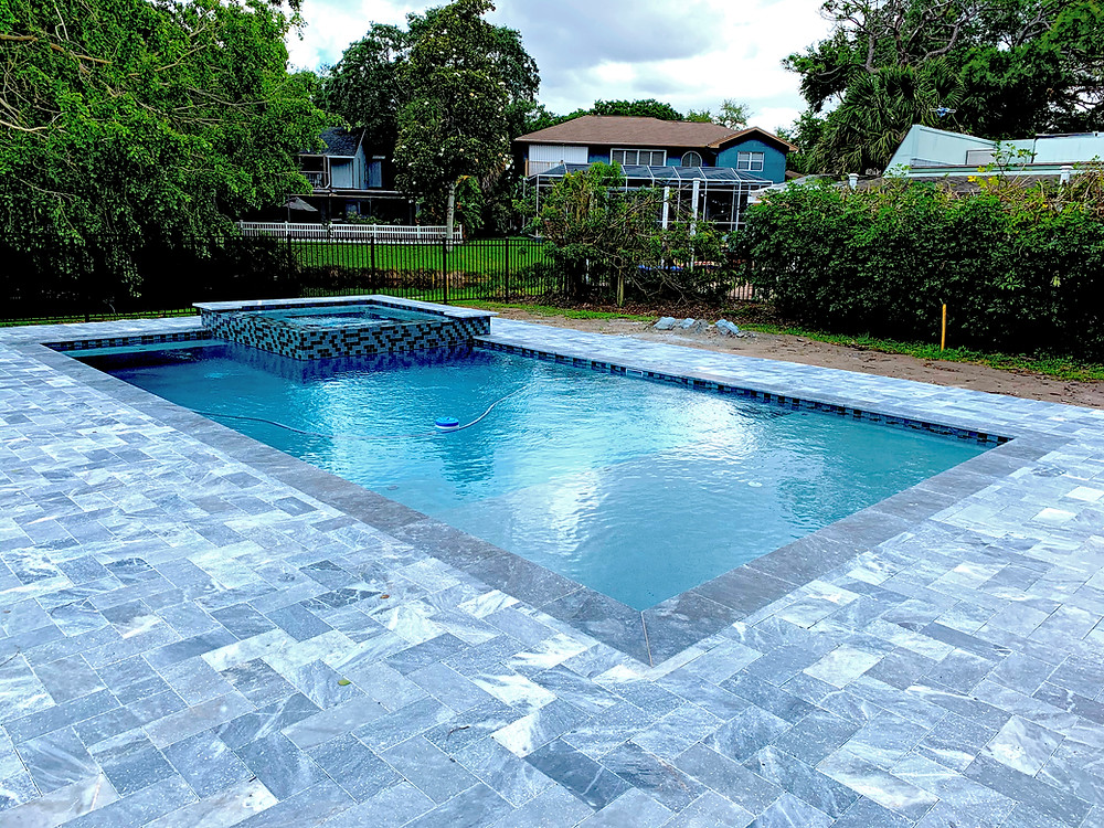 new residential pool