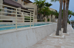 after pool renovation