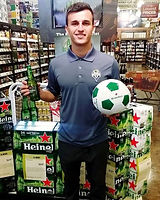 Heineken coming together with Major leag