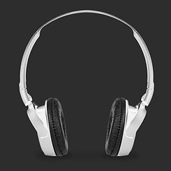 Silver Headphones