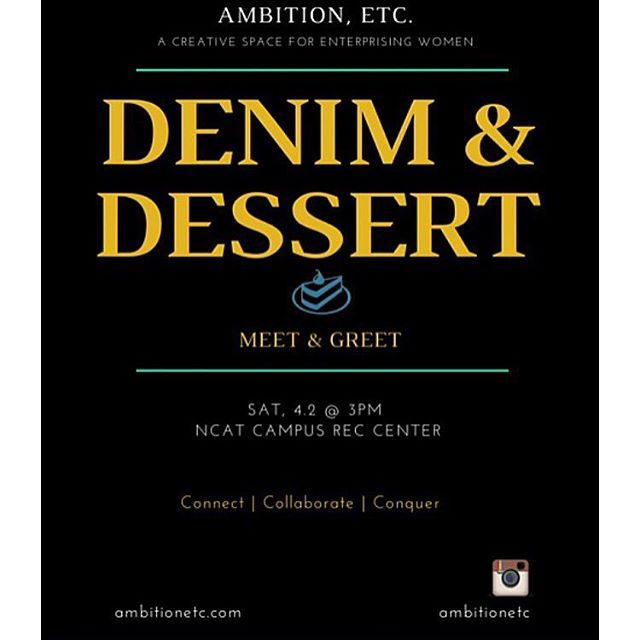 Denim & Desserts Meet & Greet