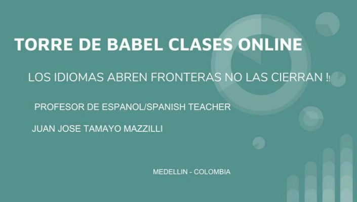 Spanish and English Online Classes