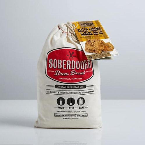 Soberdough Bread- Salted Caramel Banana Bread