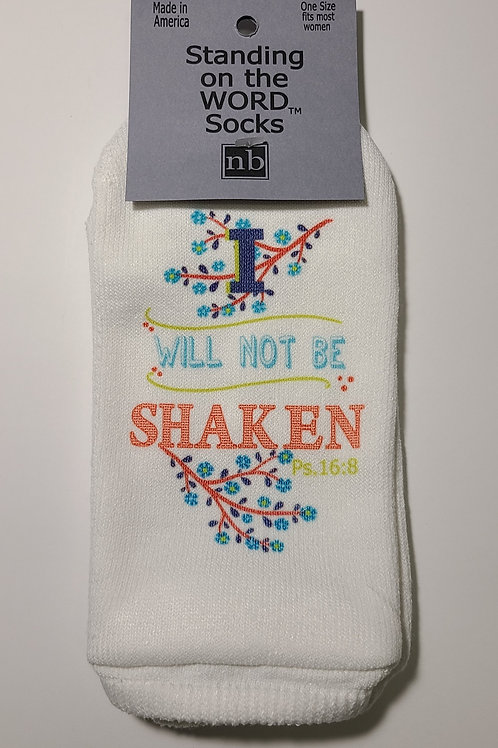 Standing on the Word Socks - Psalms 16:8