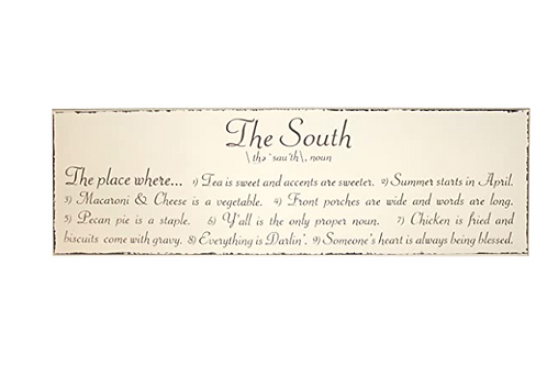 South Sign - Large