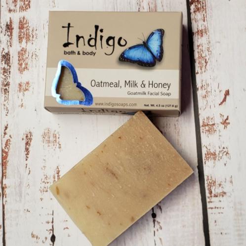 Indigo Soaps - Oatmeal, Milk, & Honey