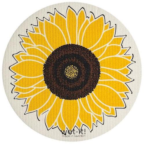 Wet It Dish Cloth - Sunflower