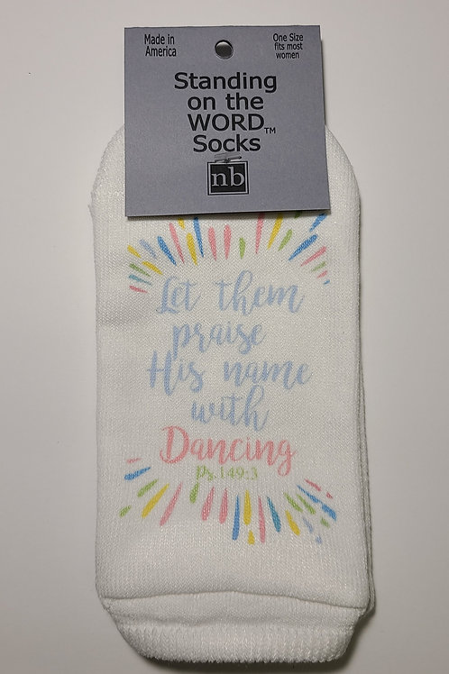 Standing on the Word Socks - Psalms 149:3