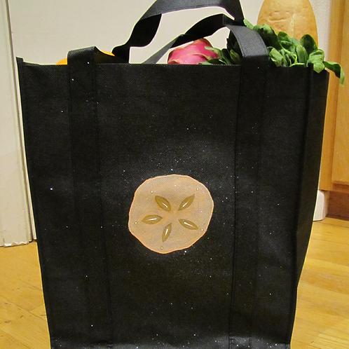 Hand Painted Sand Dollar Reusable Bag