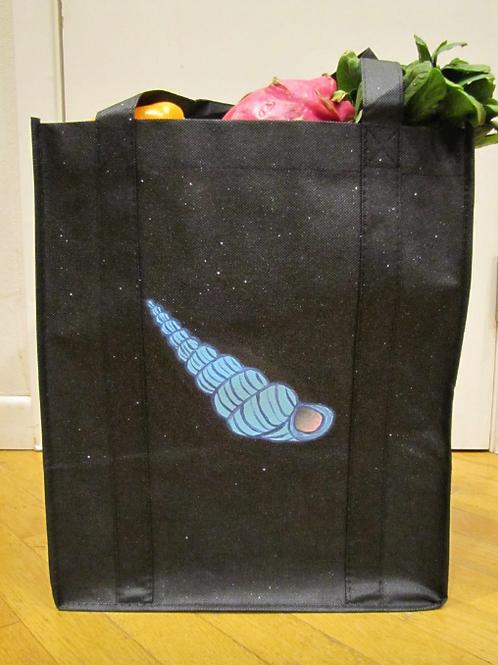 Hand Painted Shell Reusable Bag