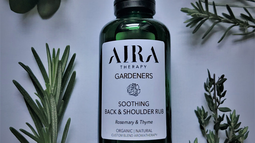AIRA Therapy Gardeners Soothing Back & Shoulder Rub 50mL