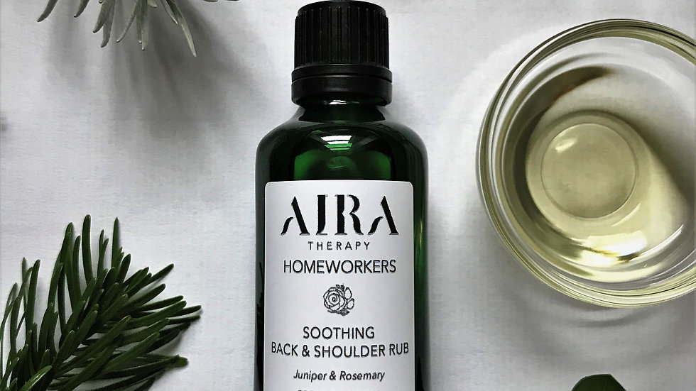 AIRA Therapy Homeworkers Soothing Back & Shoulder Rub 50 mL