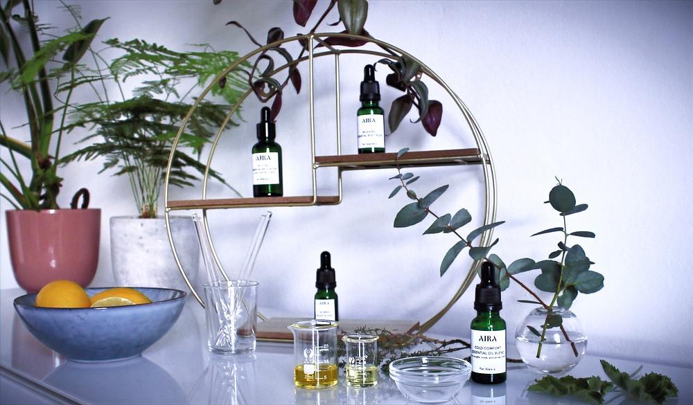 Custom Blend Aromatherapy Oils