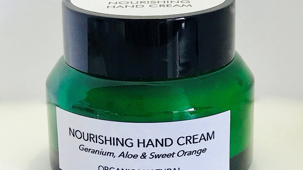 AIRA Therapy Nourishing Hand Cream Geranium, Aloe & Sweet Orange