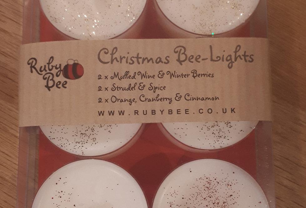Christmas Bee-Lights