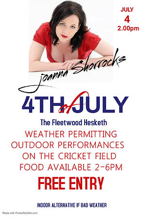 Copy of 4th of july flyer template - Mad