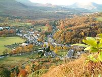 Snowdon VIllage in Autumn