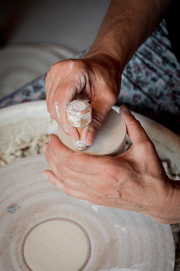 Dans l'atelier de Nathalie Céramique