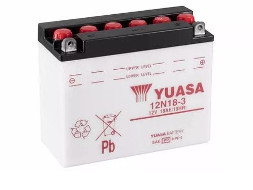 Batería Yuasa 12N18-3