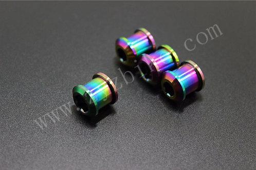 oil slick chainring bolt