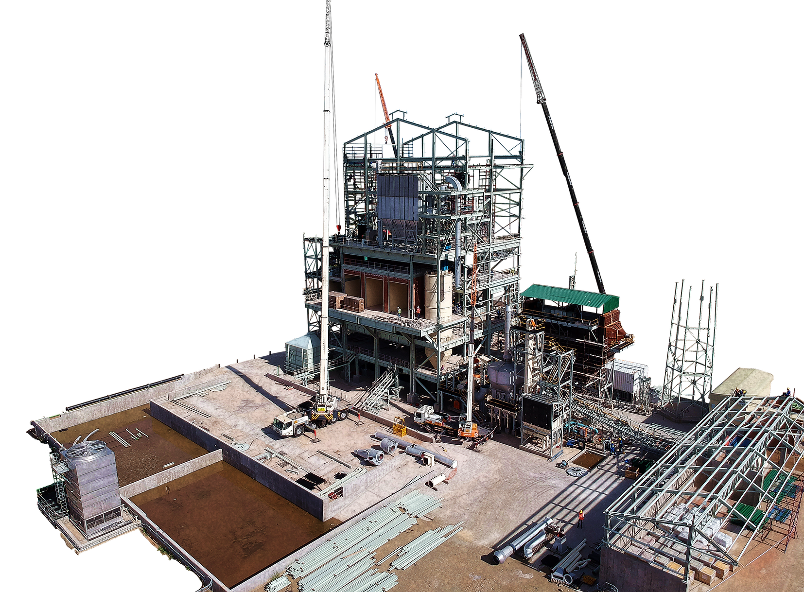 GLPS builds Anglo American Platinum - Unki PGM Smelter