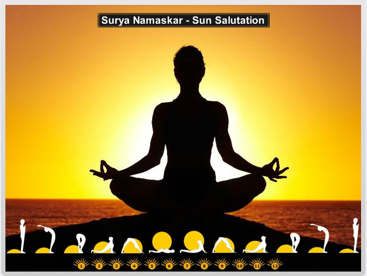 Surya Namaskar - Sun Salutation