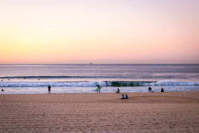 Pastel Surfers