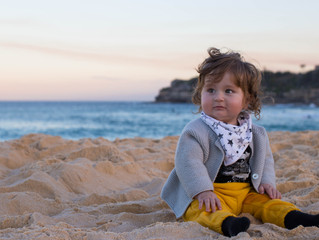 Sunset and Full Moon Photo Shoot at Bondi Beach