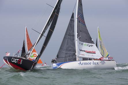 Victoire d'Alexis Loison sur la petite course