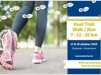 Kust Trail Walk en Run - 17 - 18 oktober