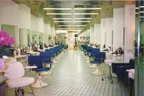 Espace coiffure du premier salon MP 1978