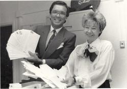Marcel Pelchat et sa fidèle collaboratrice Lise Rouleau