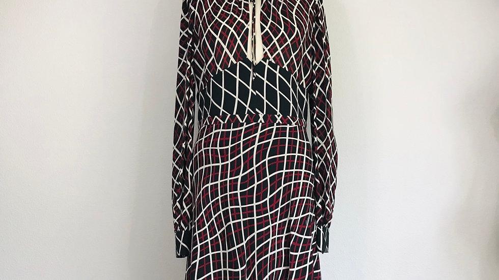 GUCCI print silk dress MSRP $2,980