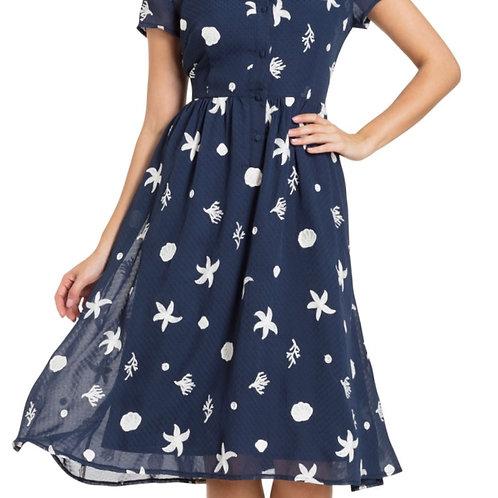 Embroidered 'Starfish' Dress 8491