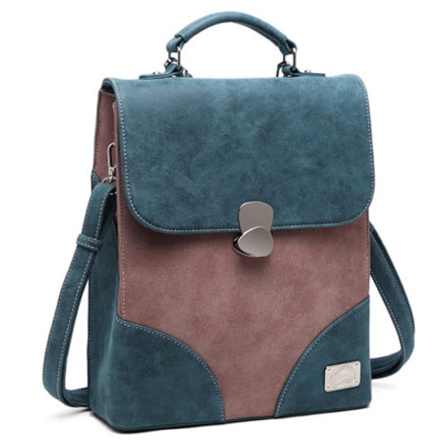 Mermaid Range 'Shore' Bag in petrol blue.